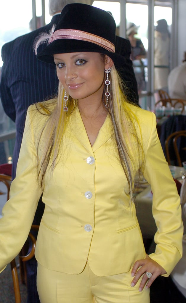 Nicole Richie wore yellow to attend the annual event in 2004.