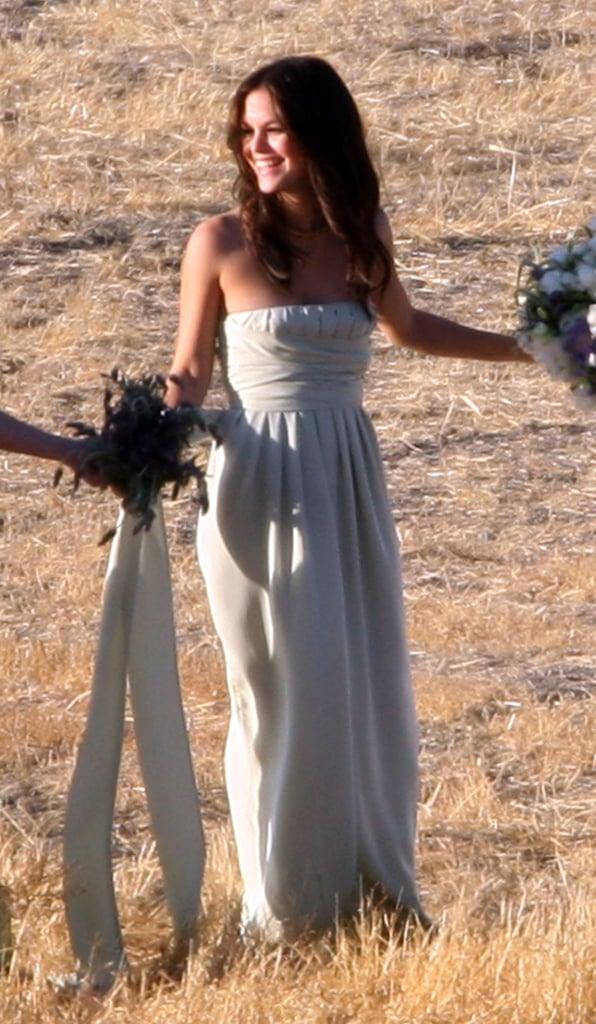 Rachel Bilson was part of Josh Schwartz and Jill Stonerock's big day at a Santa Barbara ranch in September 2008.