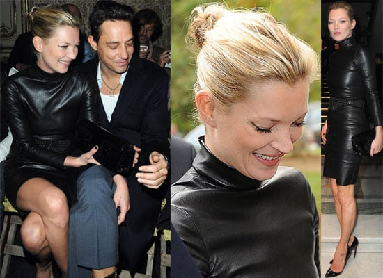 Gallery of Pictures of Kate Moss and Jamie Hince at Miu Miu Show at Paris Fashion Week Spring 2010
