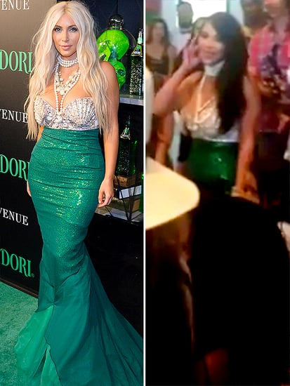 Kim Kardashian Recycles 2012 Mermaid Costume for North's Birthday Party