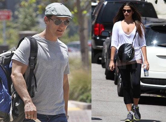 Pictures of Matthew McConaughey and Camila Alves Around LA