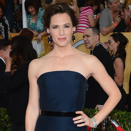Jennifer Garner's Hair and Makeup at SAG Awards 2014