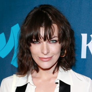Milla Jovovich's New Haircut With Bangs