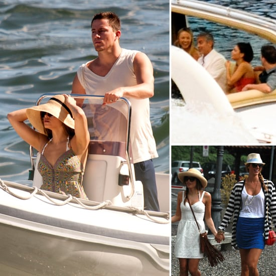 George and Stacy Welcome Channing and Jenna to Lake Como