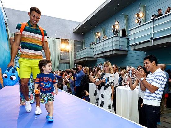 Mini Model! See Mario Lopez's Son Make His Adorable Runway Debut