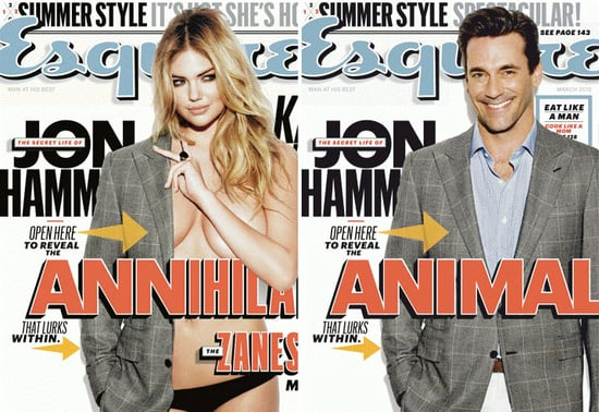 Jon Hamm and Kate Upton Bring a Double Dose of Hotness to Esquire