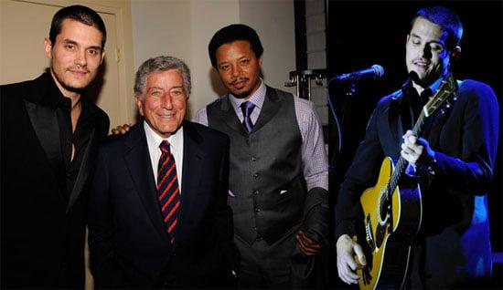 Photos of John Mayer, Terrence Howard, Jerry Seinfeld at Tony Bennett's Exploring the Arts Gala