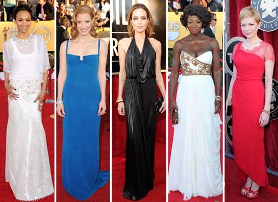 SAG Awards Fashion 2012