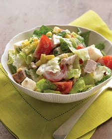 Spicy Pork Salad With Buttermilk Dressing