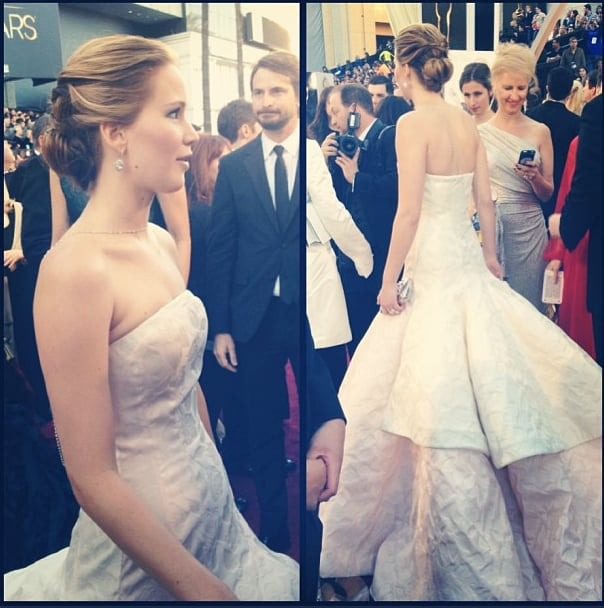 Jennifer Lawrence wore Dior Haute Couture. | The Oscars ...