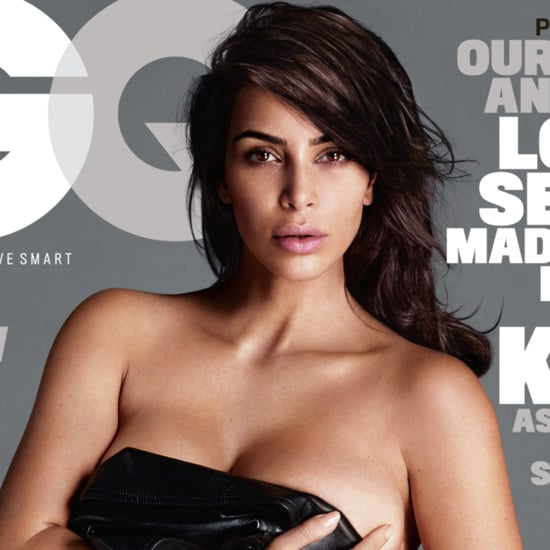 Kim Kardashian on GQ's Love, Sex, and Madness Issue Style