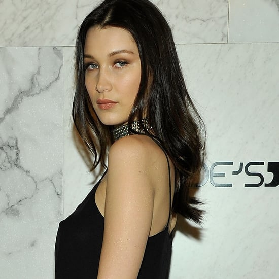 Bella Hadid in Black Jeans and Tank Top | 2016