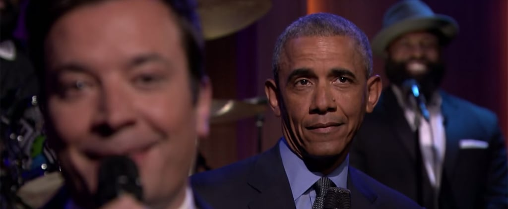 Mic Drop: Watch President Obama Slow-Jam His Presidential Term With Jimmy Fallon