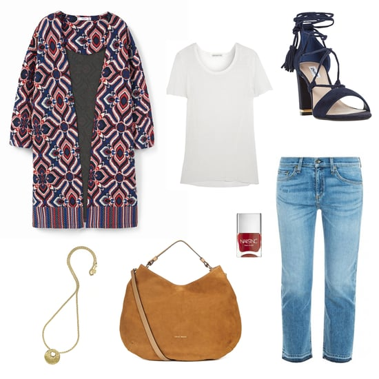 #OOTD - Boho Embroidered Jacket Trend