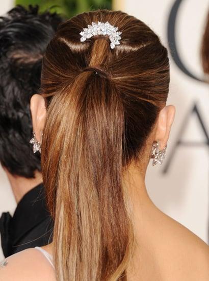 Wedding Hairstyles: Ponytails