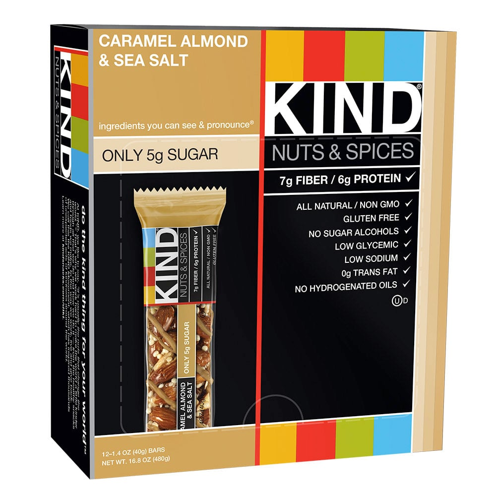 Kind's Caramel Almond and Sea Salt Bar