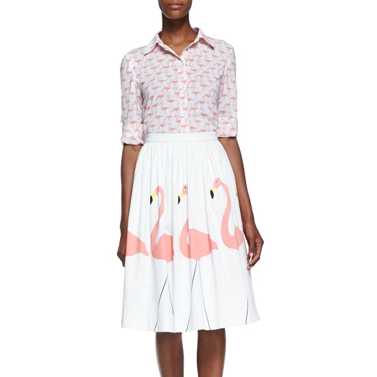 Flamingo-Print Clothes and Accessories