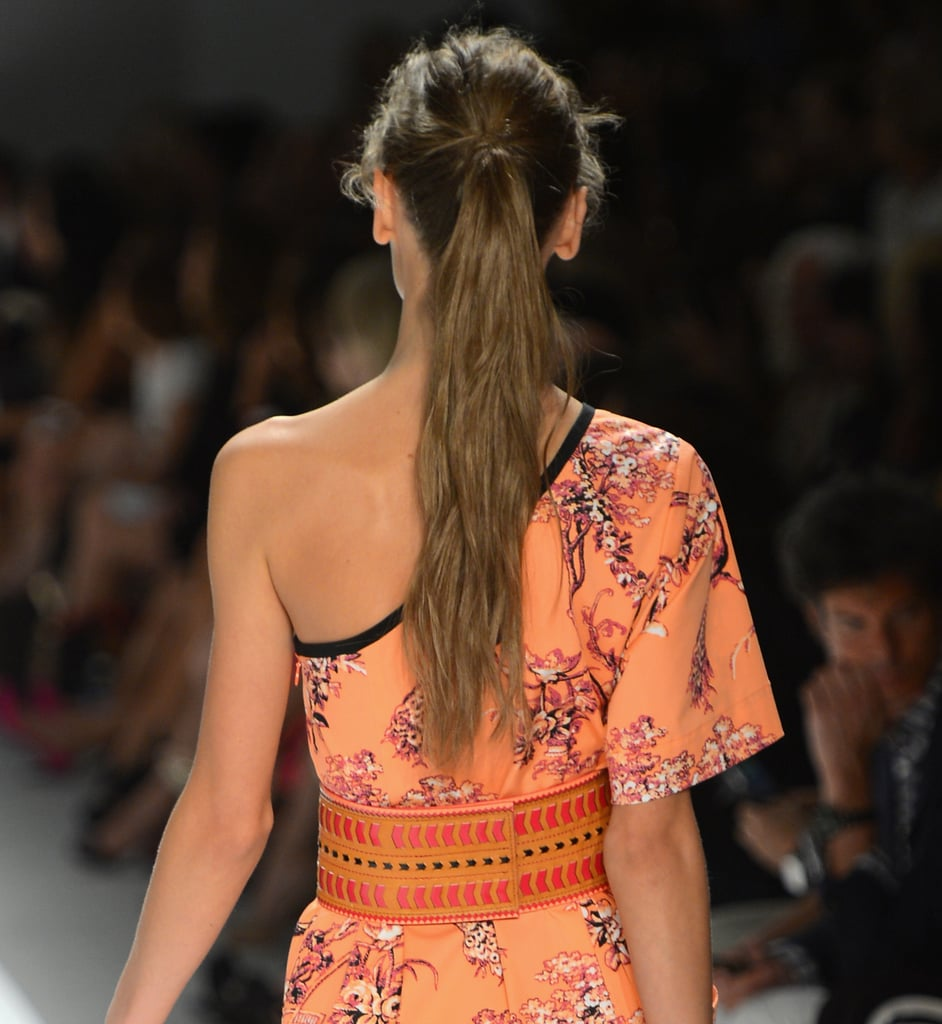 """The end product had loads of movement and texture, which was important to Pecis. """"When the girls walk, the hair moves,"""" he said. """"The texture shows an ease to the girl."""""""