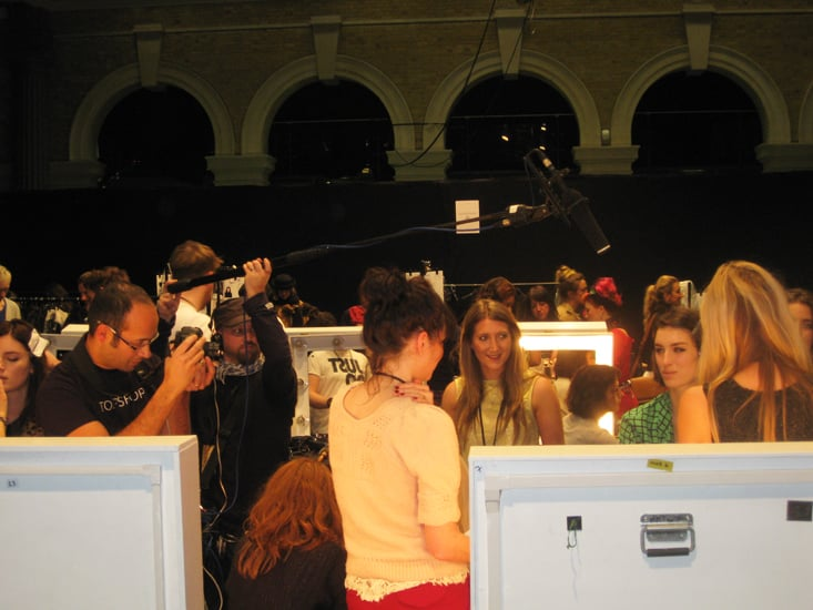 The Overall Backstage Scene
