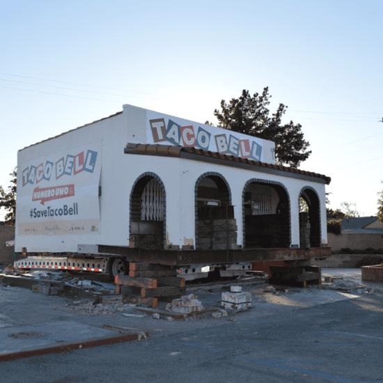 Taco Bell Saving Original Building