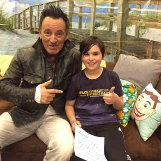 Bruce Springsteen Writes Kid's School Tardy Note