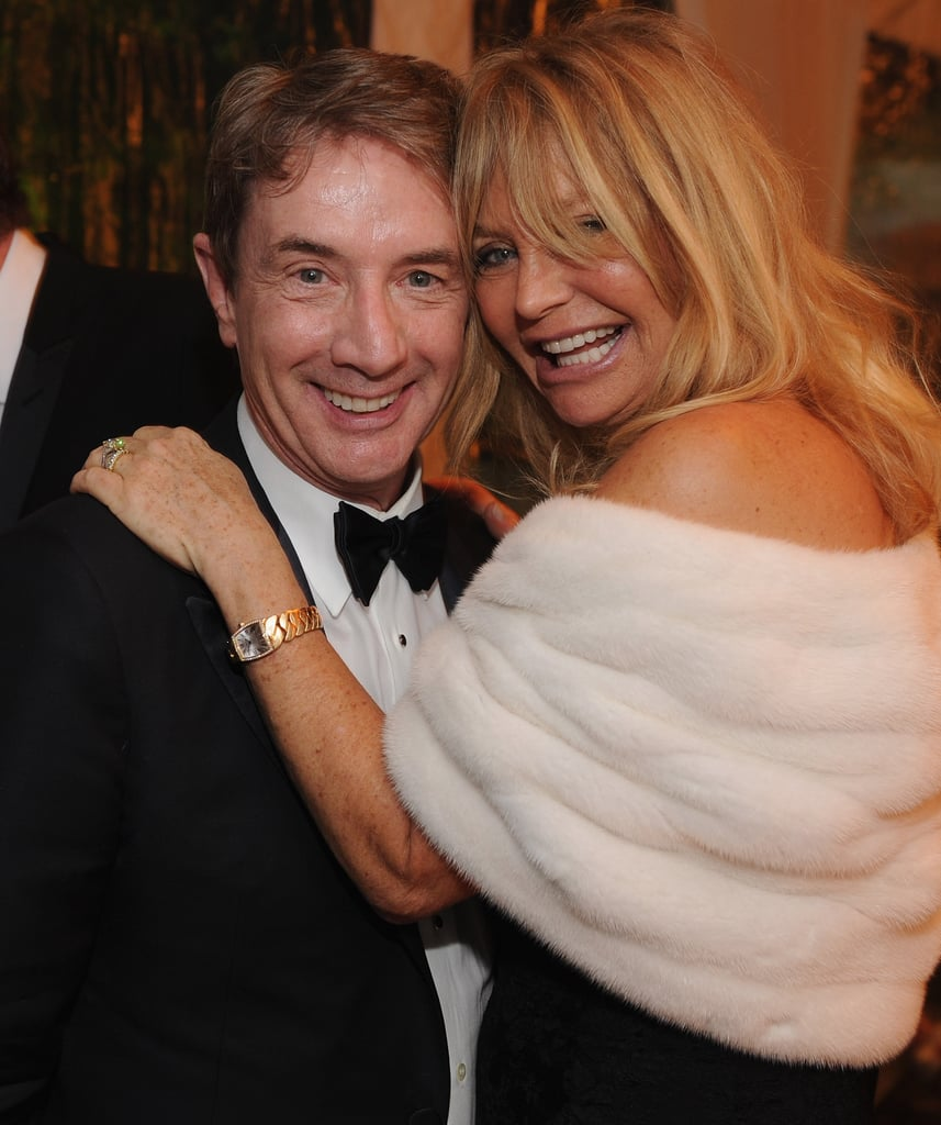 Goldie Hawn and Martin Short got together for a photo.