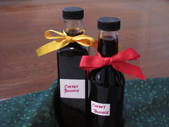 Original Recipe for Cherry Bounce Old Fashioned Bourbon Cocktail