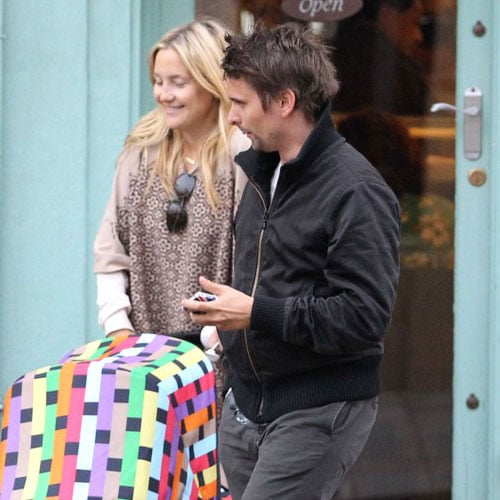 Matt Bellamy and Kate Hudson Pictures in London With Bingham