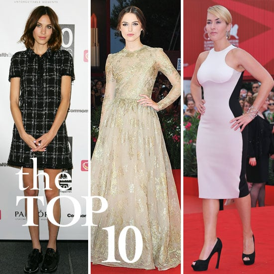 Fab's Top 10 Celebrity Looks of the Week — Alexa, Keira, Kate, and More!