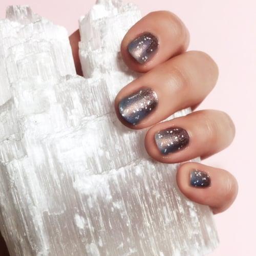 Cinderella-Inspired Nail Art