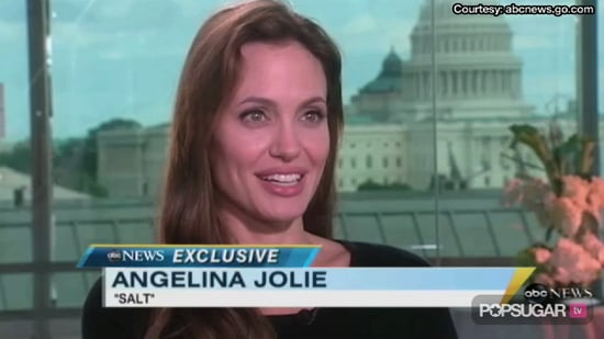 Video of Angelina Jolie Talking About Brad Pitt and Family on Nightline