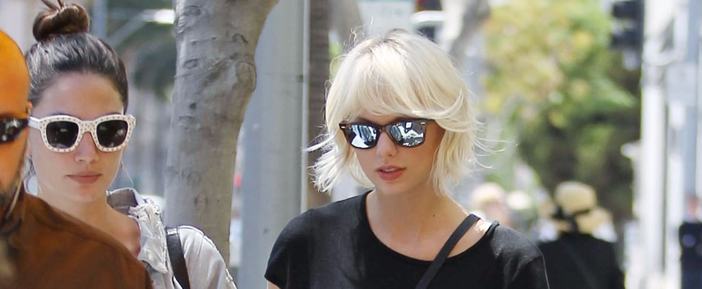 Taylor Swift Steps Out in Short Shorts Before Her Big Met Gala Gig