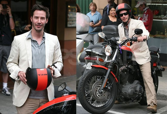 Keanu's Even Cuter When He Keeps His Shirt On