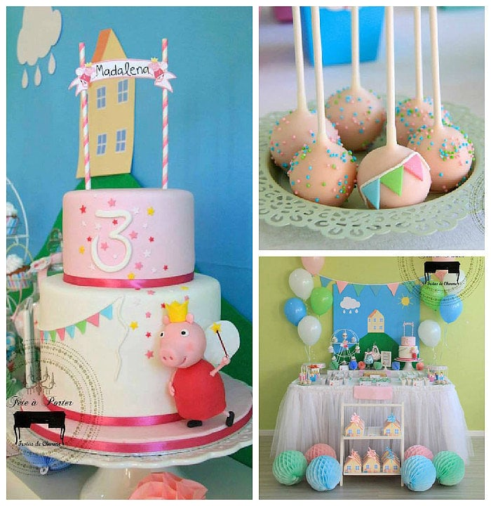 A Peppa Pig-Themed Birthday Party