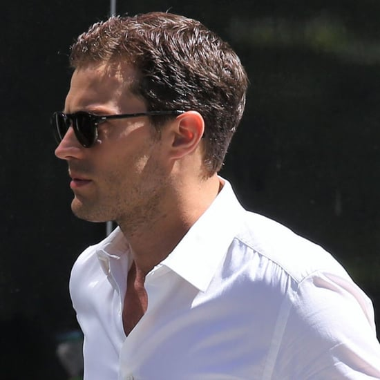Jamie Dornan Fifty Shades Darker Set Photos June 2016