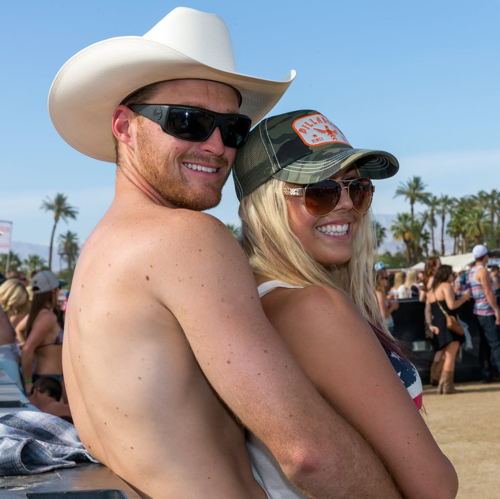 A couple embraced at 2014's Stagecoach.