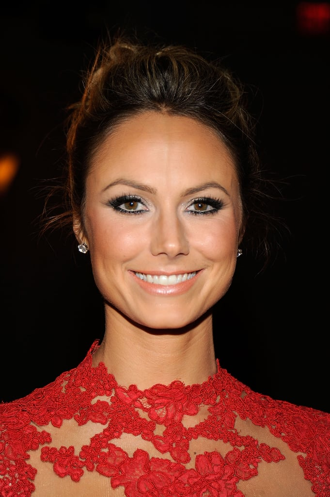 Stacy Keibler checked out NYFW.