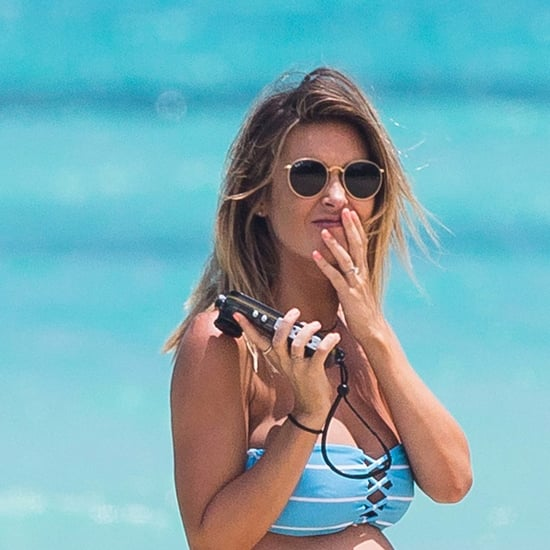 Audrina Patridge Baby Bump Bikini Pictures in Hawaii 2016
