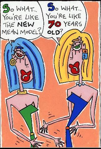 Simply Fab: Mean Model Comics