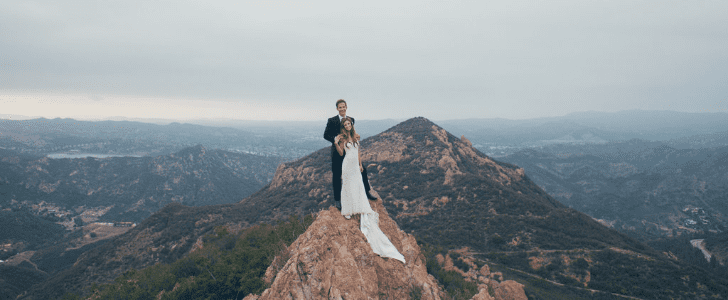 The Sky's the Limit For This Breathtaking Malibu Vineyard Wedding