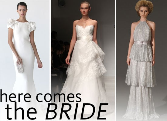 Pictures of Designer Wedding Dresses from 2012 Autumn Winter New York Bridal Fashion Week: Marchesa, Christos and more!