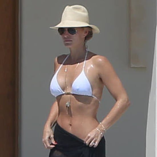 Molly Sims in a Bikini With Son Brooks | Pictures