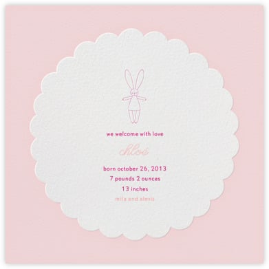 Paperless Post Birth Announcements