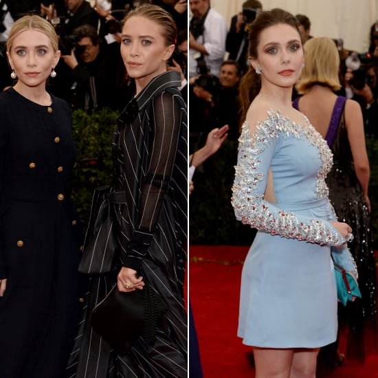 Mary-Kate and Ashley Olsen at the Met Gala 2014