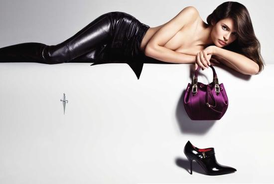 Bianca Balti Stars in Cesare Paciotti's Fall '09 Ads