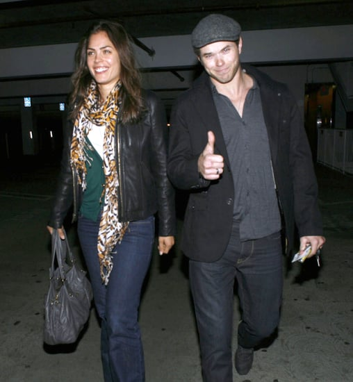 Pictures of Kellan Lutz on Movie Date in LA