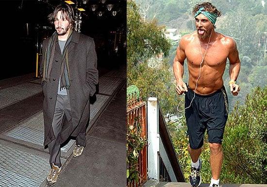 Who looks worse?  Keanu or Matthew?