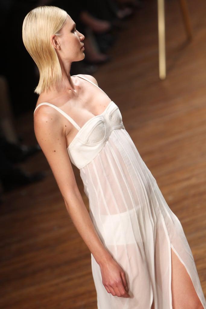 Hair: Odile Gilbert for Kérastase Makeup: Diane Kendal for Lancome