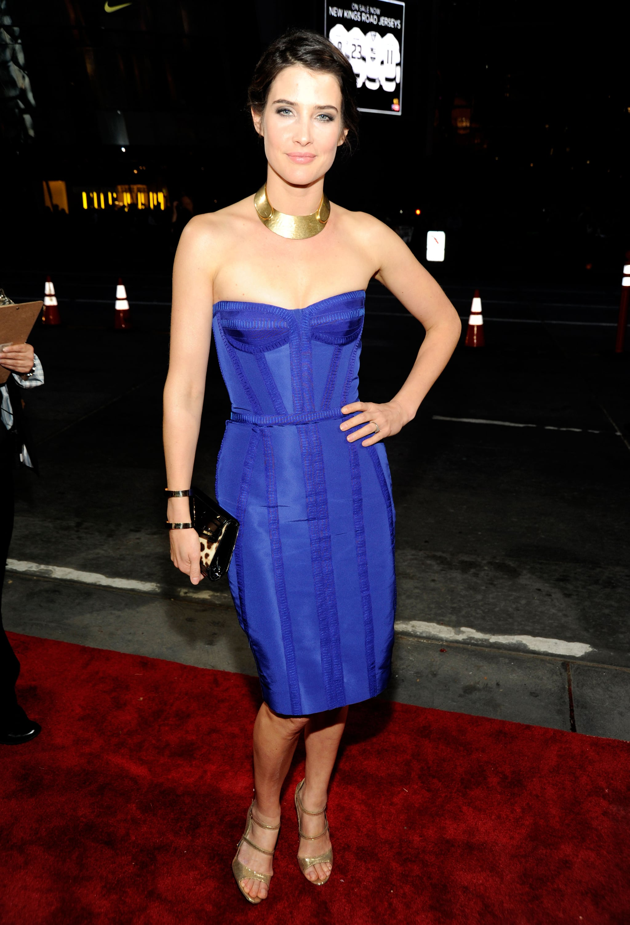 Cobie Smulders at the People's Choice Awards.