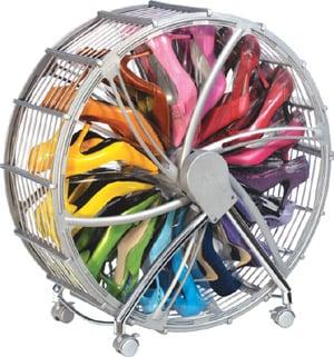 Simply Fab: Rakuu Designs Shoe Wheel